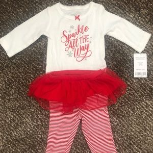 Newborn onesie and leggings set